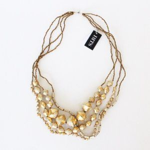 NWT 31 Bits Gold Tone Handmade Necklace Nordstrom